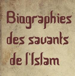 biographies des savants